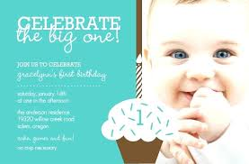 1 year birthday party invitations first simple invitation wording funny bi