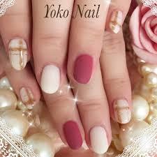 秋冬ハンドチェックマット Yoko Nailのネイルデザインno1846855