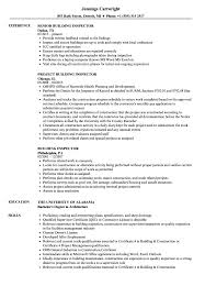 Building Resume Inspector Samples Velvet Jobs Forege Graduates Tips