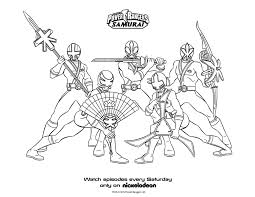 Power Rangers Samurai Coloring Sheets Printable Coloring Pages