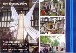 york mystery plays. 2014 preparations york mystery plays d