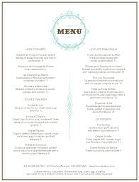 french menu template french restaurant menu musthavemenus carnegie library project