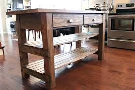 rustic kitchen island furniture rustic kitchen island table pictures ideas