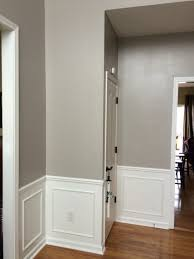 Foyer Wall Colors Modern Gray Paint Color Sw 7632 By Sherwin Williams View Interior