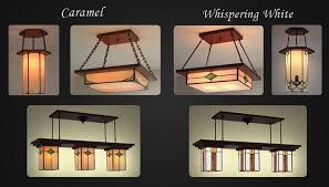 craftsman style chandelier 458
