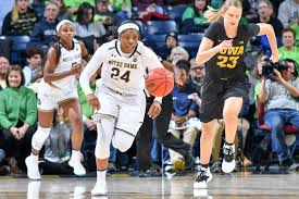 Notre Dame Basketball Depth Chart Iowa Womens Basketball Is No Match For No 1 Notre Dame