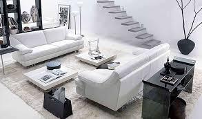 White Living Room Furniture Set Impressive Designer Living Room Sets