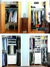 C 10 Stylish Reach In Closets Pinterest Cheap Closet Remodel