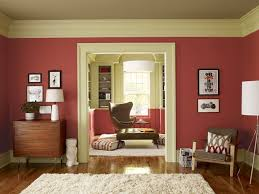 Ideal Paint Color For Living Room Classic Motife Ceiling Decprs Striped Accent Wall Living Room