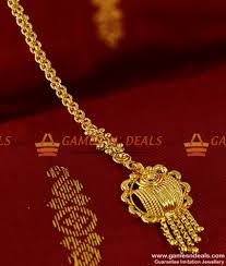 Gold Nethichutti Designs With Price Ncht09 Latest Trendy Nethi Chutti Design South Indian