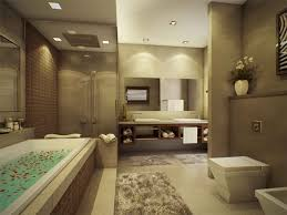 Brilliant Modern Master Bathroom Design M Throughout Decorating
