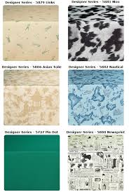 65 to 90 round designer series 10 gauge vinyl tablecloths with plush polyester backing by marko