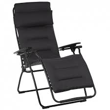 Lafuma <b>Relax armchair Black</b> tube | Lafuma Mobilier
