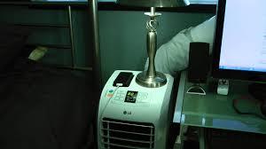 lg 8000 btu portable air conditioner. lg electronics 7,000 btu portable air conditioner - update video 95* day lp0711wnr youtube lg 8000 btu e