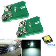 W212 Parking Light Replacement Car Truck Parts Hid Xenon White Cree Led Mercedes Benz