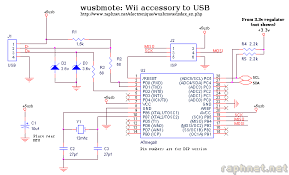 wusbmote wiimote accessory to usb adapter mcu and usb