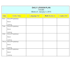 Lesson Plans Template Free Editable Lesson Plan Template Freebie Plans For School Format