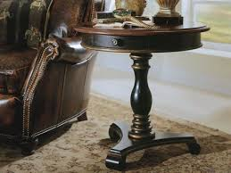 furniture preston ridge black 30 wide round pedestal table
