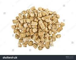 Pelleted Compound Feed Isolated On White Stock Photo (Edit Now ...