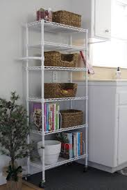 Kitchen Organization Small Spaces Small Space Kitchen Organizing Add A Shelf With Baskets Simply
