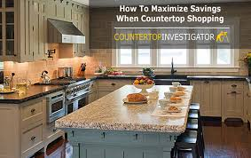 how to maximize savings when countertop ping