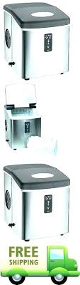 rca ice maker machine nugget makers new portable compact cube lb day silver ma refurbished machines