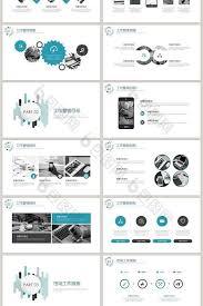 Marketing Plan Ppt Example Blue Simple Marketing Marketing Plan Ppt Template Slide Keynote