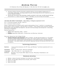 Field Service Technician Resume Examples Best Of Entry Level
