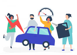 People fueling the car with gasoline | Free stock vector - 478292 - Nohat -  Free for designer