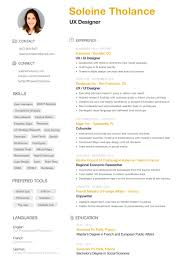 Free Ux Ui Resume Template 3 Pages Ui Ux Designer Ui Ux Resume