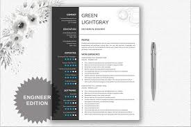 Creative Engineering Resume Template