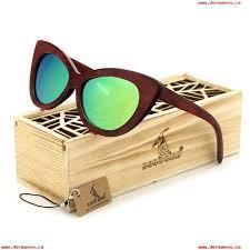 bobo bird las cat eyes classic wood sunglasses womens men coating mirror wooden sun glasses fashionable eyewear in box 409999018
