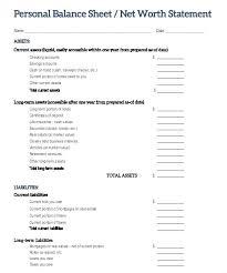 Sample Personal Balance Sheet Real Estate Balance Sheet Sample Heatsticks Co