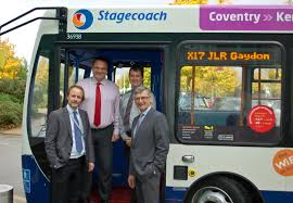 Bus Service Gives Jaguar Land Rover Workers Even More Transport