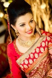 simple bengali bride in desh enement