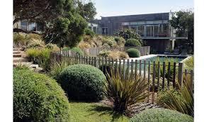 a coastal garden