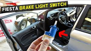 Ford Fusion Brake Light Switch Ford Fiesta Brake Light Switch Replacement Removal Mk7 St