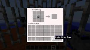 Light Grey Dye Light Gray Dye Official Minecraft Wiki