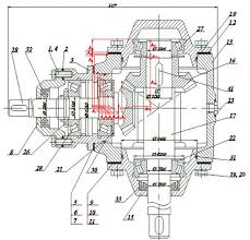 Курсовая работа Технологический процесс изготовления детали вала  Схема сборки конического редуктора