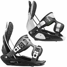 Details About Flow Micron Youth Kids Snowboard Binding Step In Snowboard Binding New