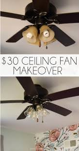 this diy ceiling fan makeover is so smart refresh any fan in your house in
