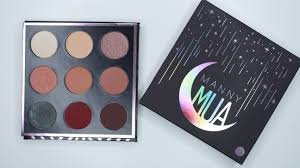 manny mua x makeup geek collaboration palette swatches