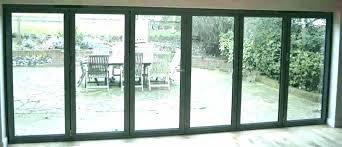 accordion glass doors patio bi sliding hurricane shutters for do