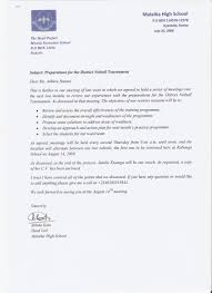 Professional Recommendation Letter For Student With School Logo