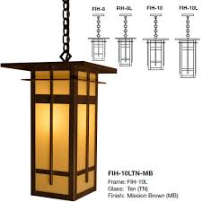 arroyo craftsman fih finsbury mission exterior hanging light loading zoom arroyo craftsman lighting