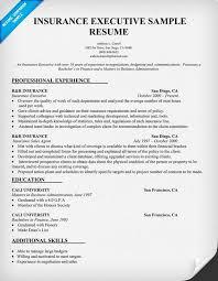 insurance executive resume sample resumecompanioncom resume samples across all industries pinterest executive resume resume examples and resume sample insurance resume