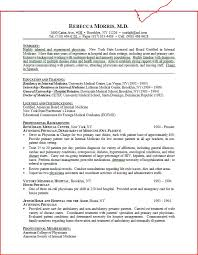 Resume Templates Resume Objectives For Medical Field Summary A