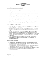 Exceptional Annual Accomplishment Report Summary Sample For College