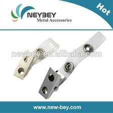 Work Identity Card Cheap Work Id Card Decorative Metal Clips With Pvc Strap Mc206 Buy
