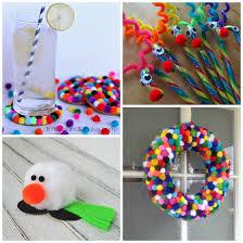 cute-pom-pom-christmas-crafts-for-kids-